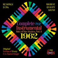 Complete Pop Instrumental Hits of the Sixties, Vol. 3 - 1962